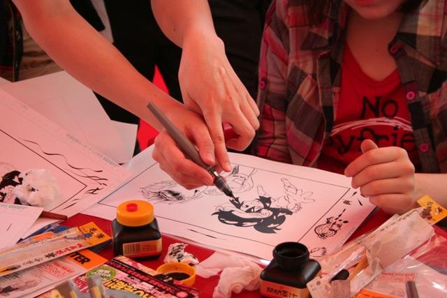 Мастер-классы преподавателей Ниигатского колледжа аниме и манги (с) Cool Japan Journal