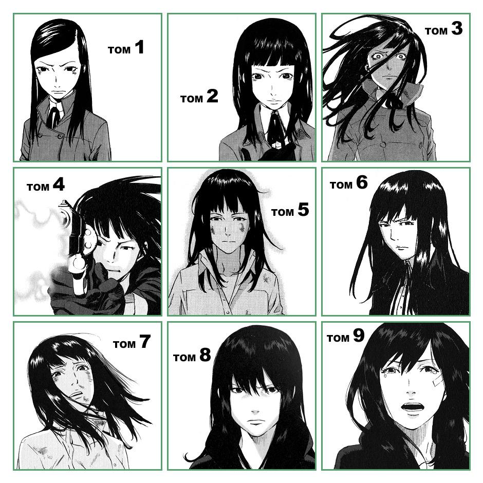 Эволюция графики на примере главной героини