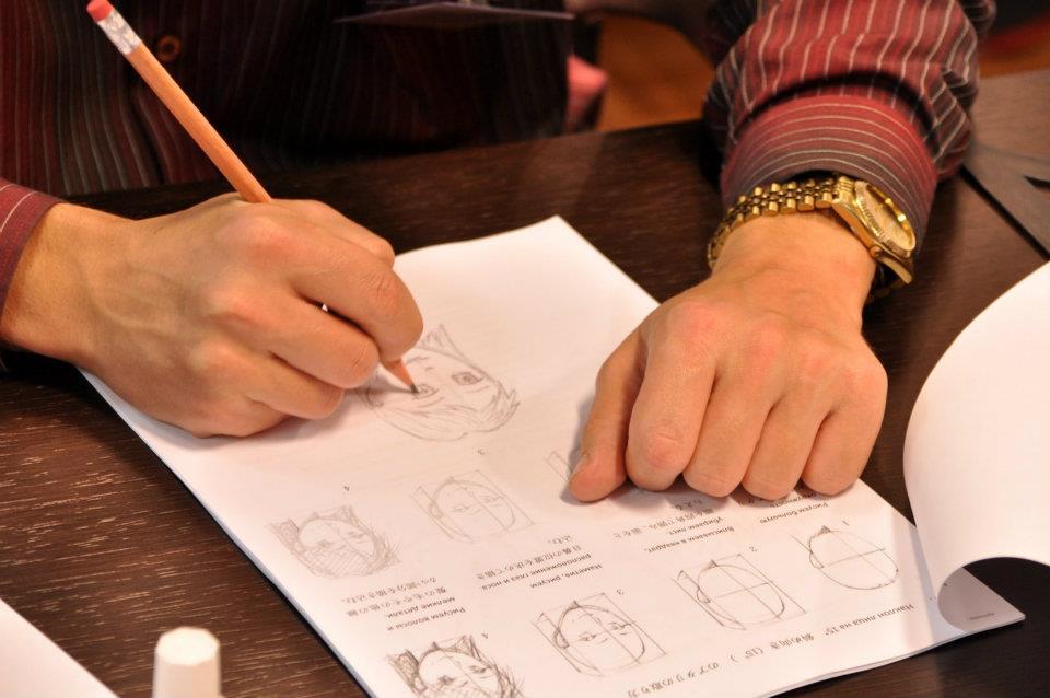Мастер-классы Окивы Коити в Москве. Фото (с) «Японский дом»