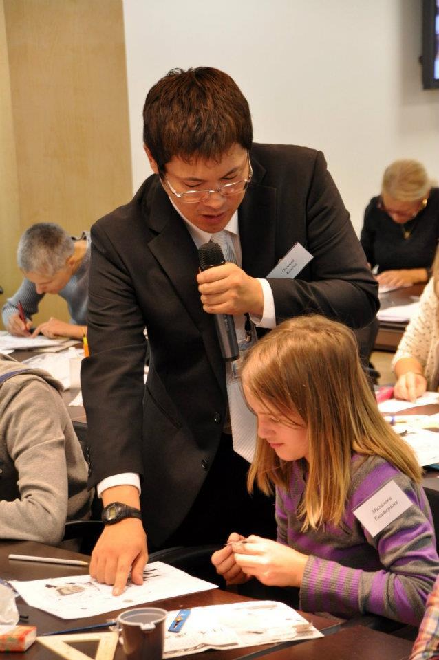 Мастер-классы Окиивы Коити в Москве. Фото (с) «Японский дом»