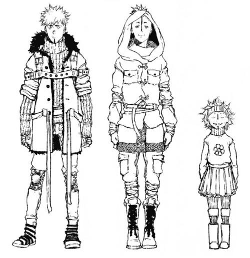Персонажи комикса для сборника «Зомби апокалипсис в России» (c) noi-albinoi, meissdes