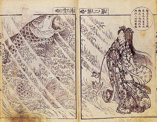 Хокусай — книжная иллюстрация