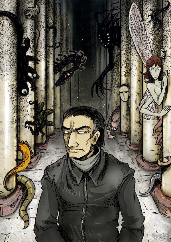 Арт-постер для романа от Dasha Ko