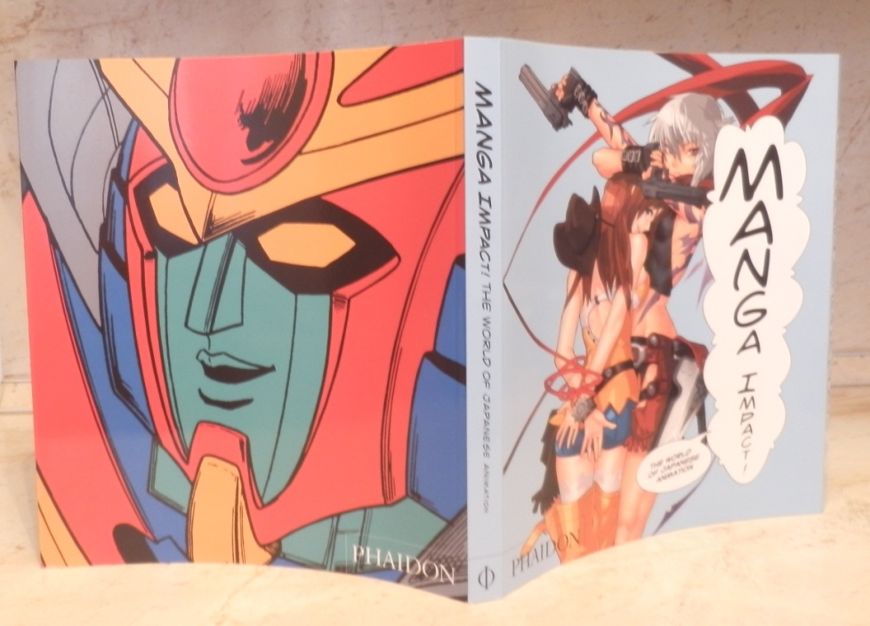 Manga Impact! Разворот обложки