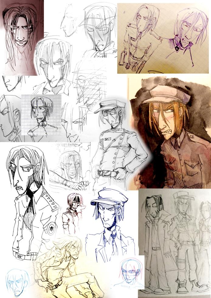 страница разработки персонажа, Dasha Ko
