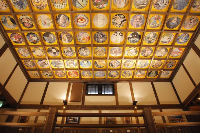 Энрюин - роспись потолка
