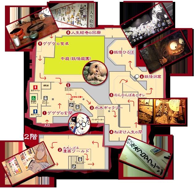 Музей Мидзуки Сигэру внутри