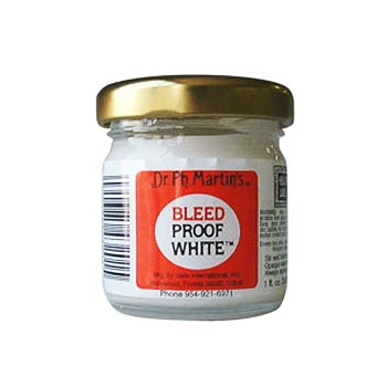 Белая тушь Dr.Martin's PEN-WHITE (США)