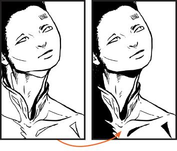 manga studio, рисунок Skitalets