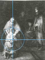 """Золотое сечение на картине Рембрандта """"Возвращение блудного сына"""""""