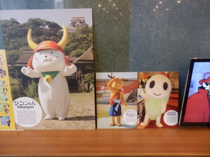 """Хиконян, Сэнтокун и Намисукэ на выставке """"Япония – империя анимэ персонажей"""""""
