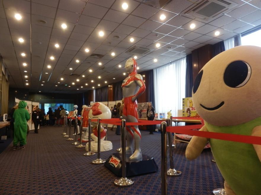 """Фигуры персонажей на выставке """"Япония – империя анимэ персонажей"""""""