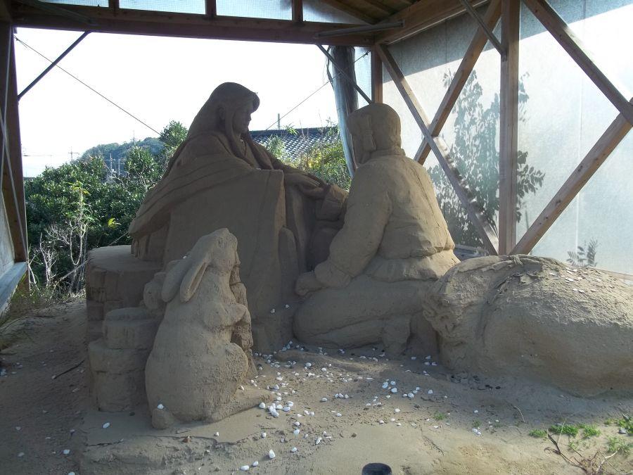 Статуя из песка © фото Алеф