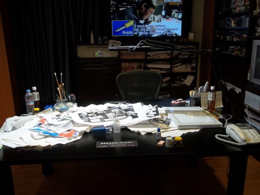 Рабочий стол в Доме-музее Аояма Госё © фото Алеф