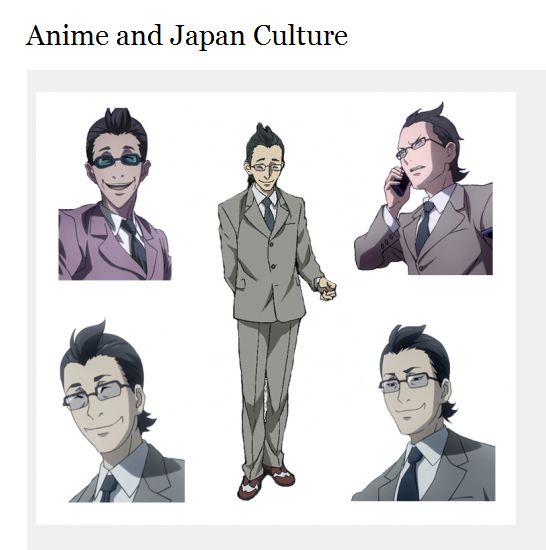 """персонаж из соцопроса """"Изучение восприятия личностных характеристик персонажей японского анимэ, как результат культурной диффузии"""" © Анна Наймушина"""